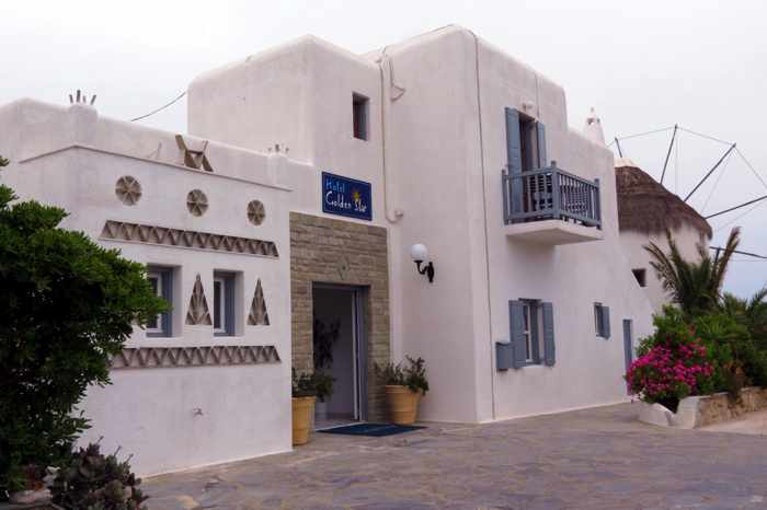 Golden Star Hotel on Mykonos
