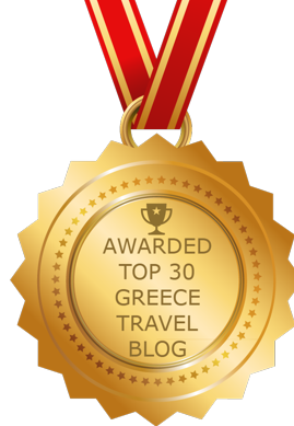 Awarded Top 30 Greece Travel Blog