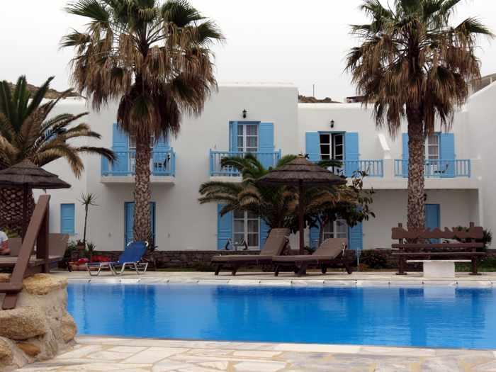 Hotel Lady Anna Mykonos