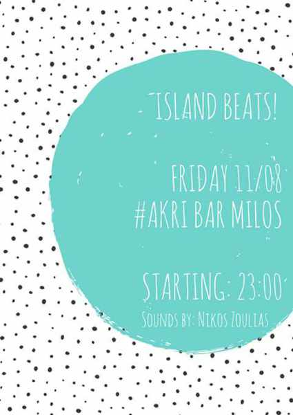 Akri Bar on Milos party event