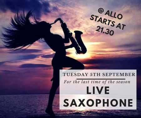 Live Jazz at Allo Ios on Ios