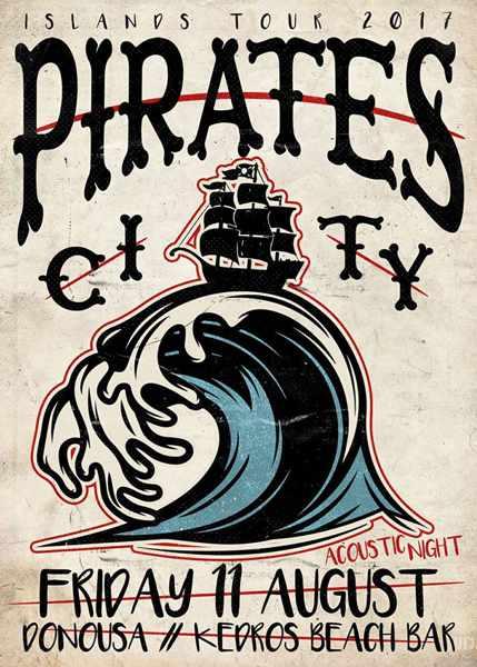 Pirates City show on Donoussa