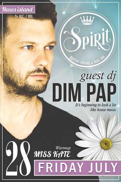 Spirit Bar Naxos party event