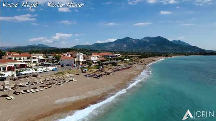 Kalo Nero beach in Messenia