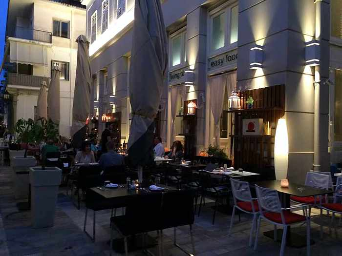 360 Cafe in Nafplio's Old Town