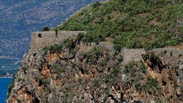 Acronauplia fortress at Nafplio