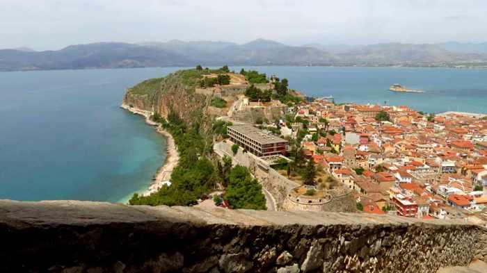 Nafplio and the Acronauplia peninsula