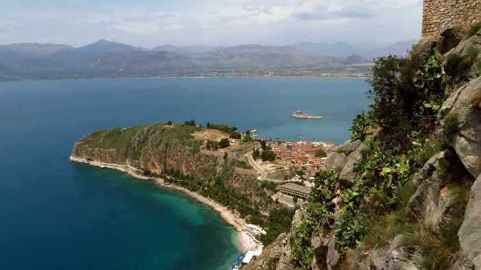 Acronauplia peninsula