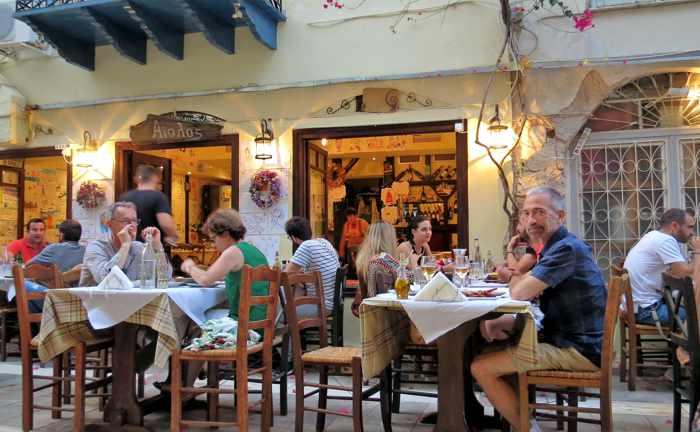 Aiolos Taverna in Nafplio
