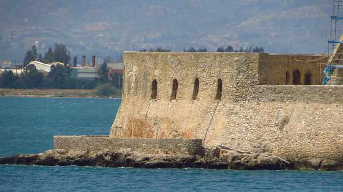 Bourtzi sea castle at Nafplio