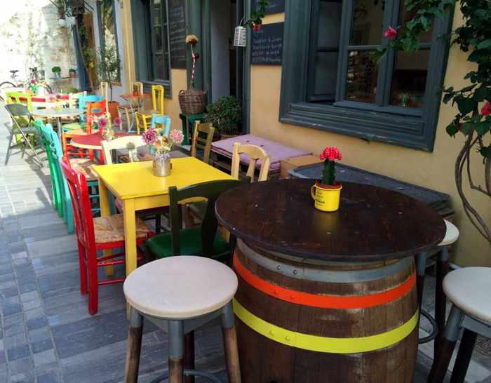 Es Aei restaurant in Nafplio