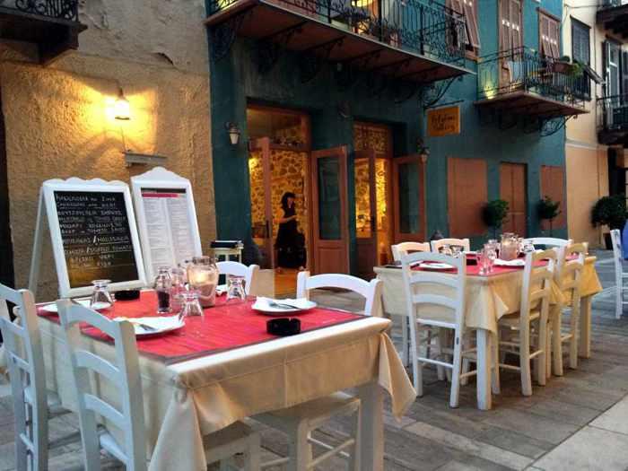 Kakanarakis 1986 restaurant in Nafplio