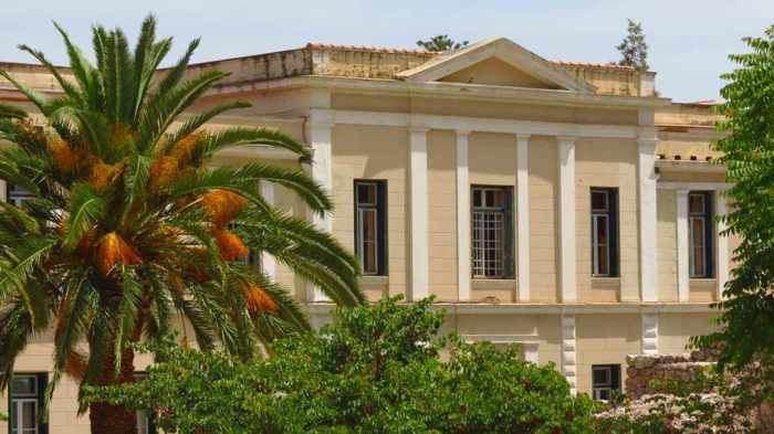 the Nafplio courthouse building