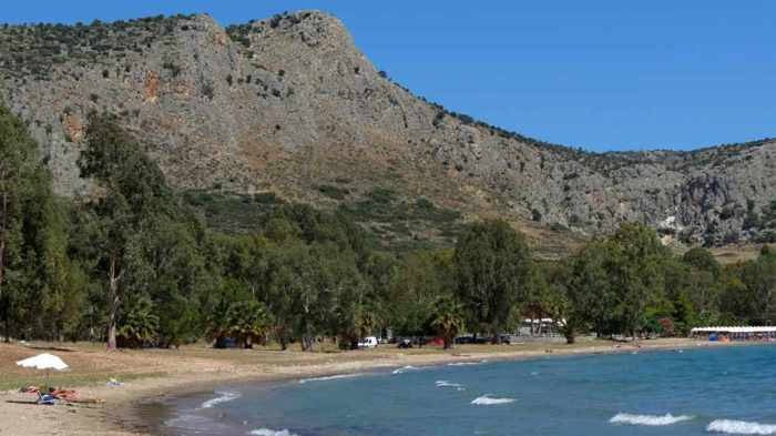 Karathona beach near Nafplio