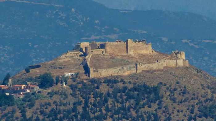 Larissa Castle at Argos