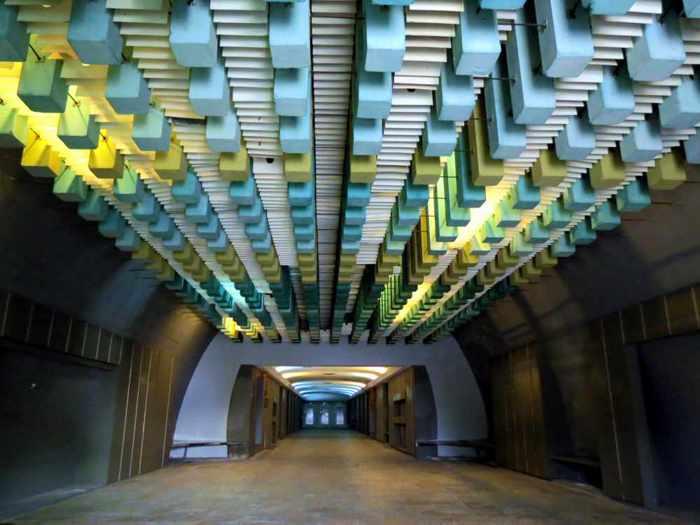 Nafplia Palace hotel passageway