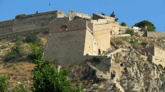 Palamidi castle at Nafplio