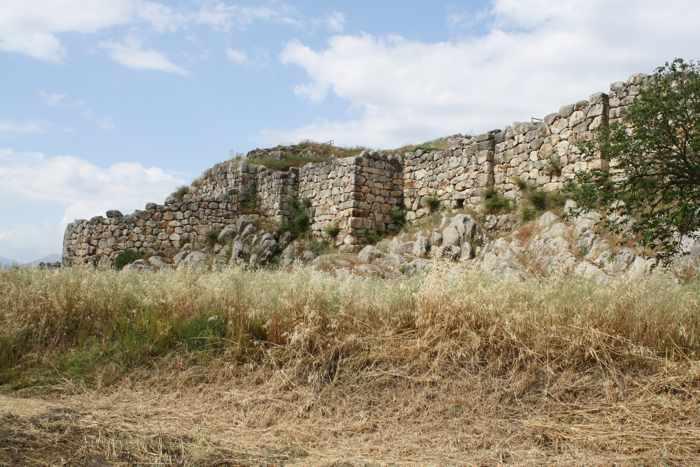 Citadel at Tiryns Greece