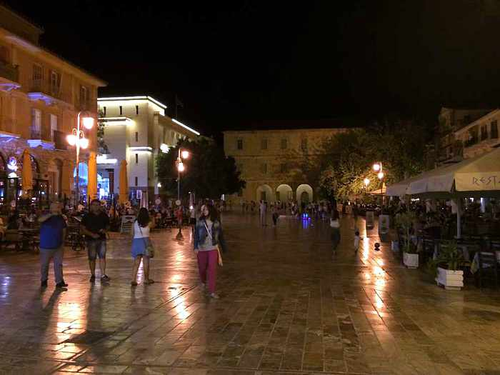 Syndagma Square in Nafplio