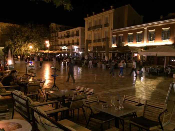 Syntagma Square in Nafplio
