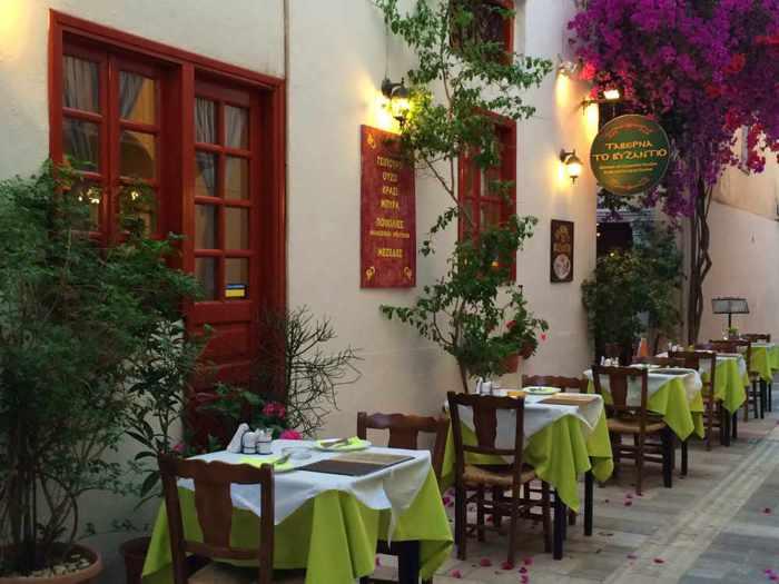 Taverna To Byzantio in Nafplio