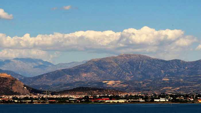 View across the bay from Nafplio