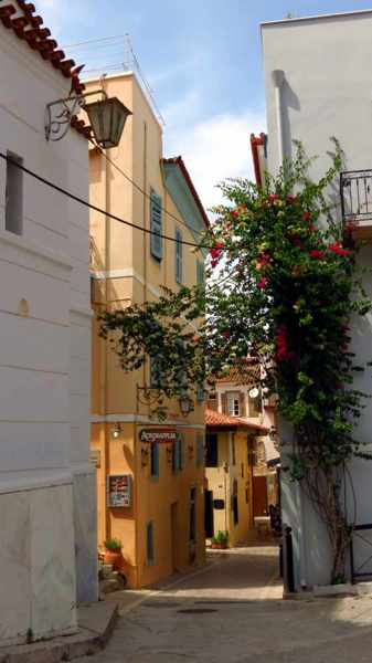 a street in Nafplio