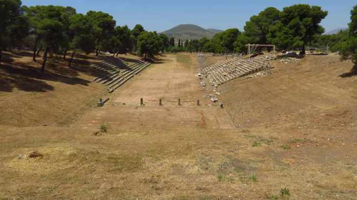 athletics facility at the Epidaurus archaeological site