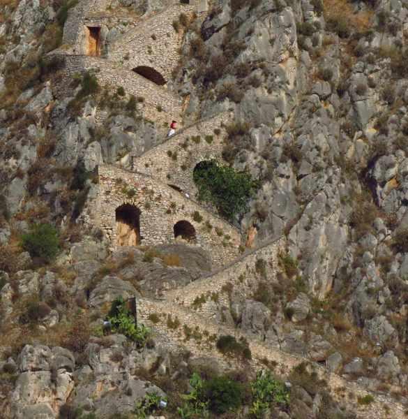 steps to Palamidi castle