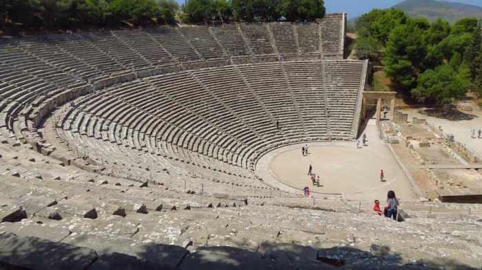 ancient theater at Epidaurus