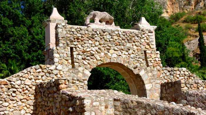 the historic Land Gate at Nafplio