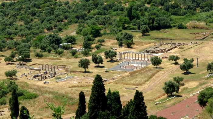Ancient Messini archaeological site