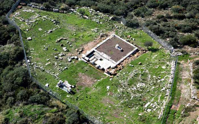 Sanctuary of Artemis Limnatis near Mavromati