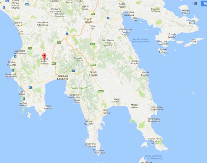 Mavromati location on Google Maps
