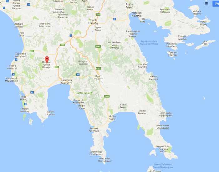 Mavromati location on Google Maps