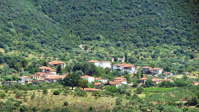 a settlement near Ancient Messini