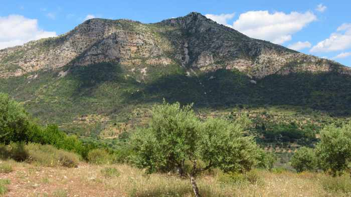 Mount Ithomi at Ancient Messini