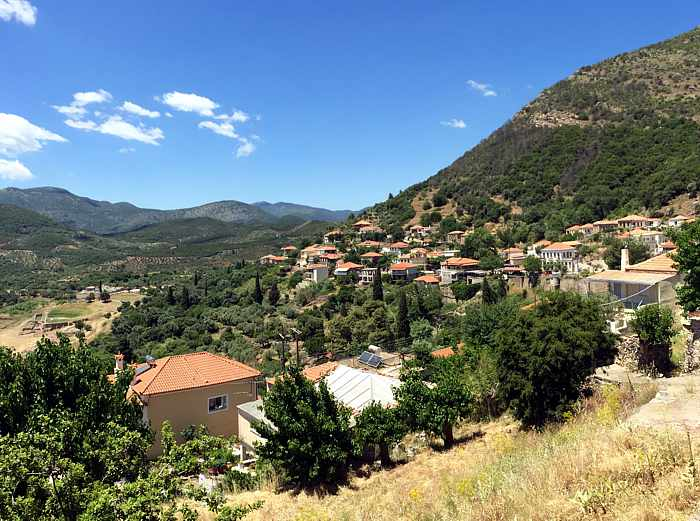 Mavromati village at Ancient Messini IMG_0858