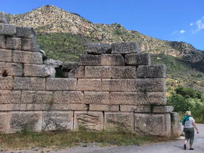 the Arcadian Gate at Ancient Messini