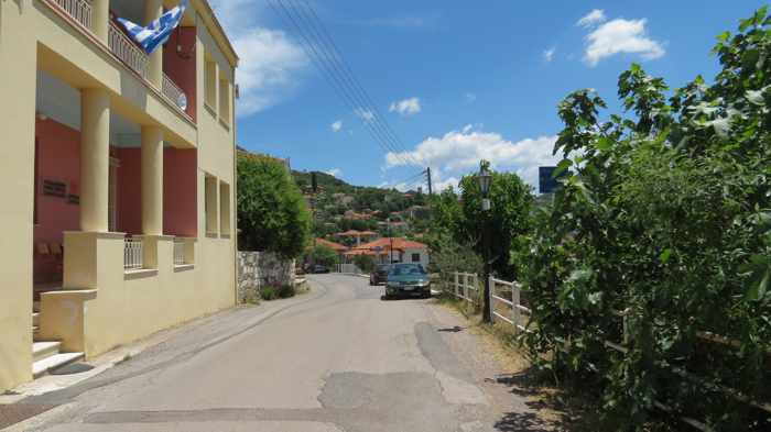 the main road in Mavromati
