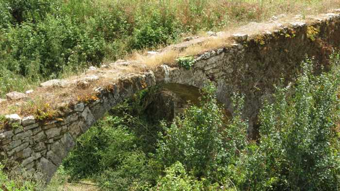 old bridge at the Andromonastiro monastery