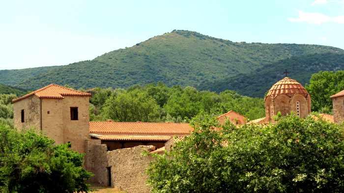Andromonastiro monastery near Ancient Messini