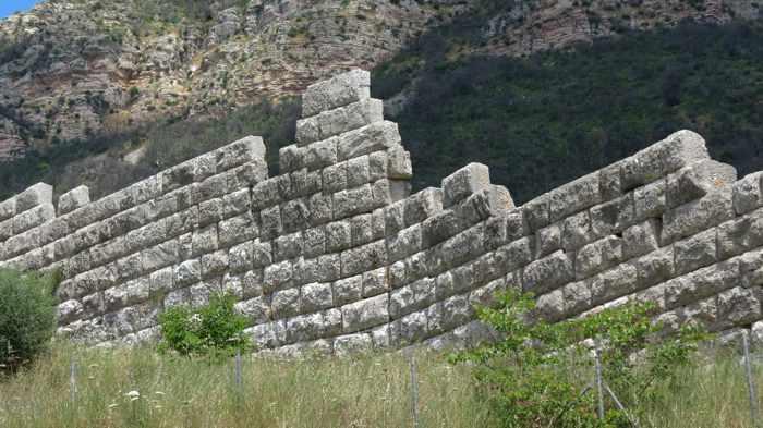 circuit wall near the Arcadian Gate