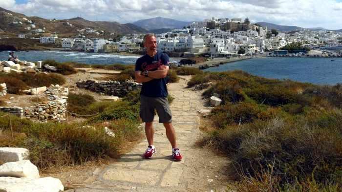 Donny on Naxos