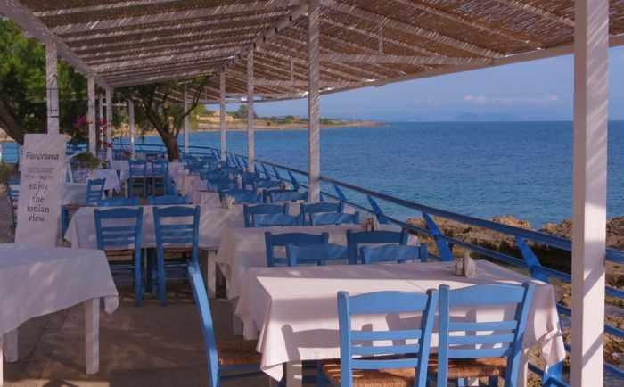 Panorama Restaurant in Marathopoli