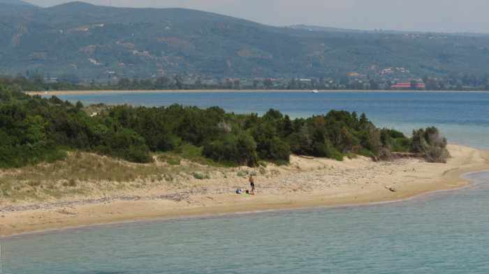Divari beach on Navarino Bay