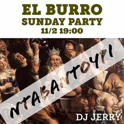 El Burro Mykonos party event