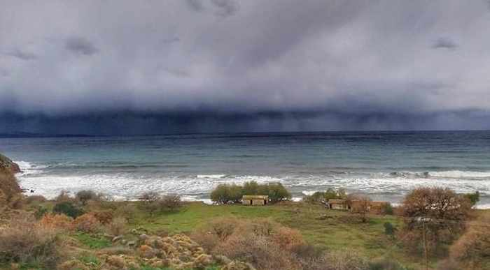 Stormclouds at Lesvos