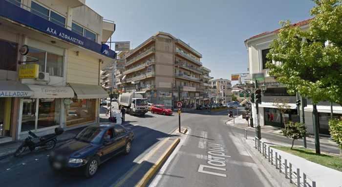 Pyrgos city in western Greece