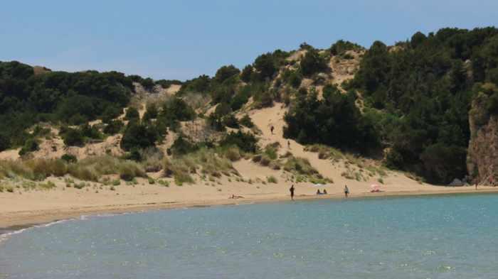 Voidoklia beach